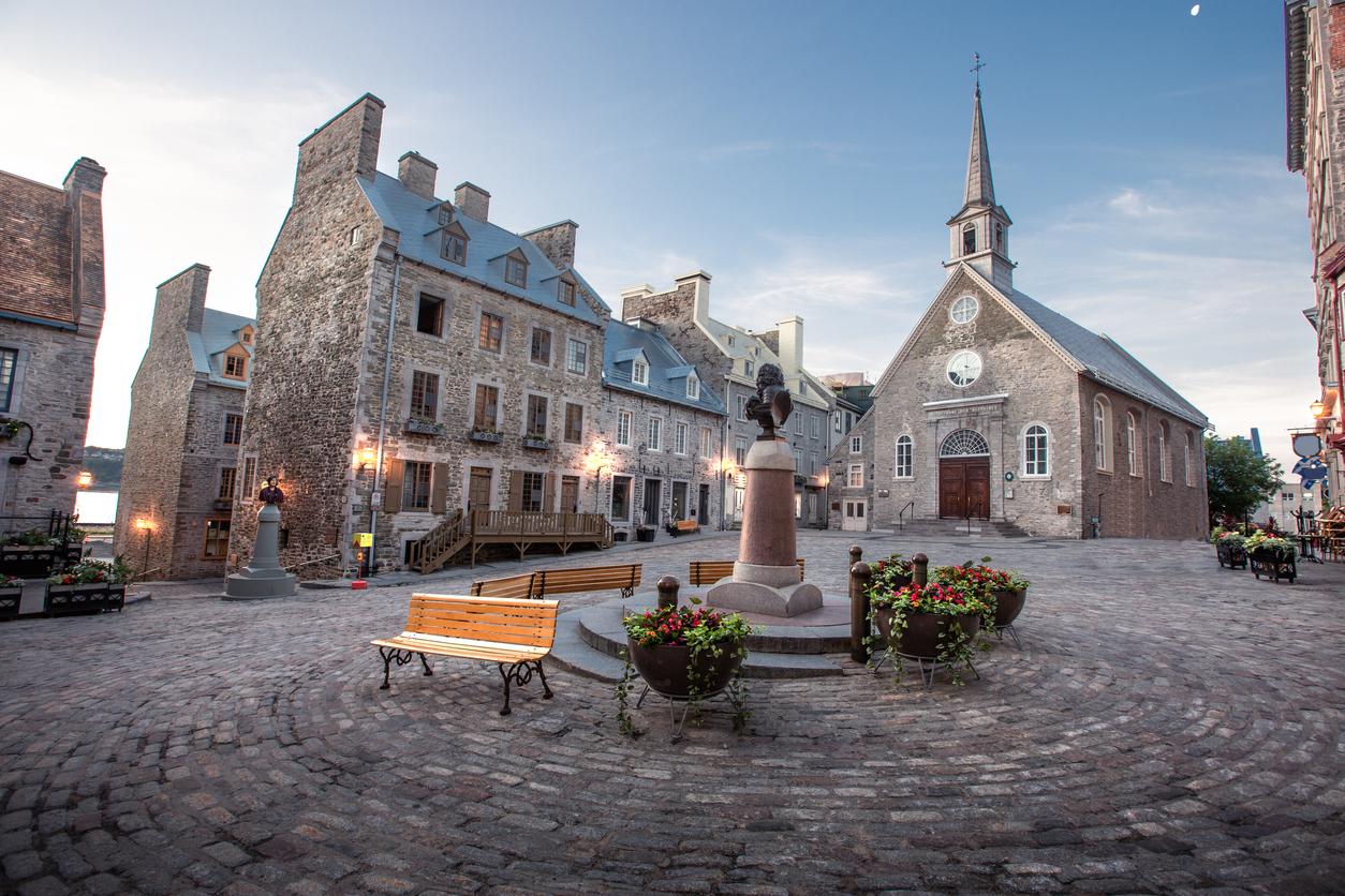Petit Champlain District of Old Quebec City