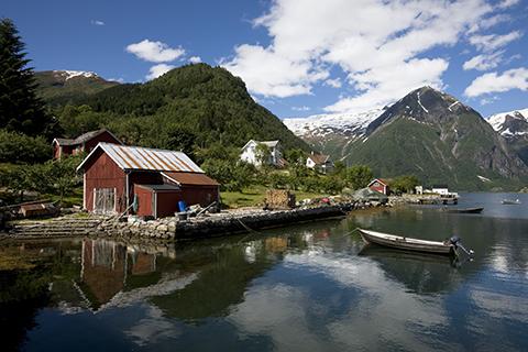 Fjord at Balestrand