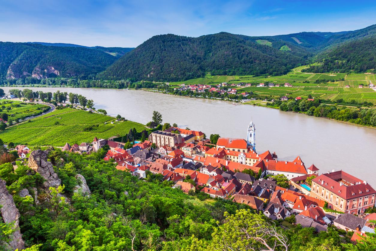 Durnstein, Austria.